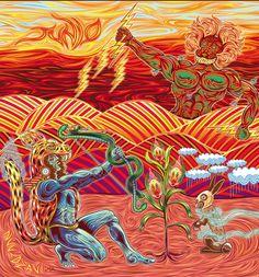 Lenin Vásquez es un artista que se reconoce oaxaqueño hasta la médula, a pesar de vivir en el Distrito Federal desde el 2005.En las ilustraciones de su ciudad de origen refleja el surrealismo que, según él, gobierna a los habitantes de Oaxaca. Su trabajo va desde la intervención de objetos con pintura, hasta la ilustración …