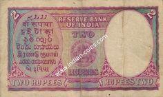 British India Bank Notes - Si No 054374
