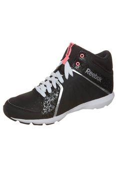 Reebok STUDIO BEAT VI MID RS - Chaussons de danse - black/white/pure silver - ZALANDO.FR