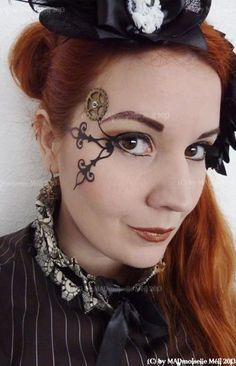 steampunk makeup and hair - Google Search