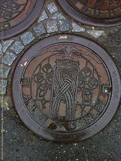 Manhole cover, Ålesund.