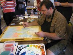 GENIE EVEN: A Paul Jackson Workshop Paul Jackson, Watercolor Art, Workshop, Painting, Pictures, Water Colors, Photos, Atelier, Watercolor Painting