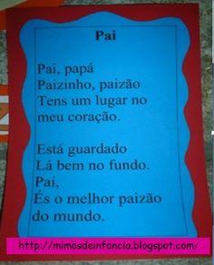 Mimos de Infância: Pai, papá