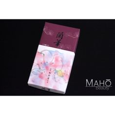 SHOYEIDO Ranka ''Orchid'' made in Japan natural incense: Subtle floral aroma 300 sticks
