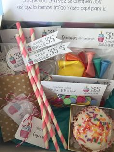 Diy Gift Box, Diy Box, Ok Design, Surprise Box, Sweet Box, Party Trays, Birthday Box, Party In A Box, Candy Boxes