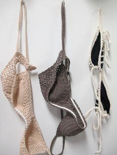 (Crochet) bra's
