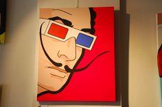 Dalí par Léon   Available @samhartgallery Montreux, Switzerland