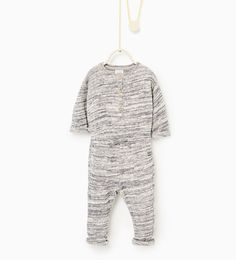 Image 1 of Textured jumpsuit from Zara