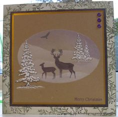 Crafty Salutations: Krafty Christmas Cards and Merry Christmas!