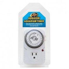 Aqua-sun aquarium timer for turtle terrariums.