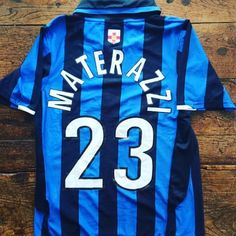 50% off: Inter Milan Nike 2007 Materazzi shirt now 17.50 on http:/