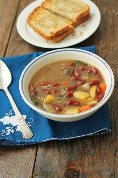 Rustic Red Bean Stew