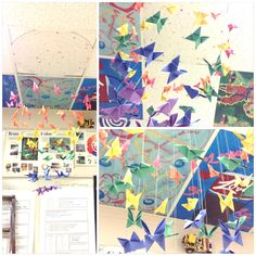 Art Project- butterfly mobile