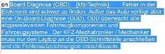 Definitionen: Wortschatz der Automobiltechnik ( kfz-Fachausdruecke Spezialwoerter Fachbezeichnungen