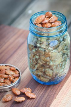 Maple Coconut Roasted Almonds