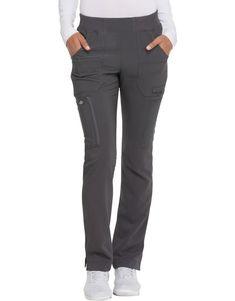 Women& Advance Mid Rise Tapered Leg Pull-On Scrub Pants - Pewter Gray & Leg Scrub, Scrub Pants, Stylish Scrubs, Polo Shoes, Cute Scrubs, Scrubs Outfit, Leg Pulling, Nursing Clothes, Pull On Pants