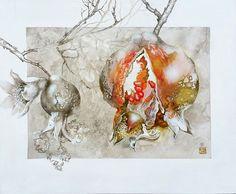 Original Botanic Painting by Daria Galimova Figurative Art, Saatchi Art, Moose Art, Original Paintings, Canvas Art, Portrait, Life, Products, Men Portrait