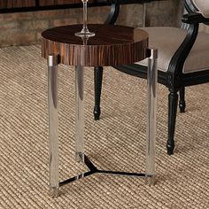 Interior HomeScapes offers the Maxwell Brown Veneer Accent Table by Port Visit our online store to order your Port 68 products today. Table Topics, Steel House, Old Wood, Living Room Furniture, Brown, Interior, Design Table, Home Decor, Accent Tables