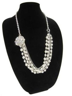 Glitz and Boho Collection Necklace--supplies at Michaels
