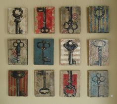 DIY Wall Decor from Kari and Kijsa http://todayscreativeblog.net/diy-decorating-ideas/
