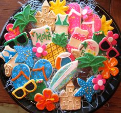 Summer Fun! - Cookies for a poolside party!
