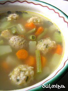 Jó egészséget! receptek Dulmina tündérkonyhájából: Őszi zöldségleves zabpelyhes krumpligombóccal