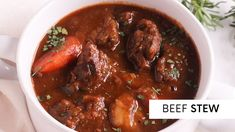 Hearty Beef Stew is a warm and comforting meal that can be made in the slowcooker, stovetop or pressure cooker. Learn how to make it step by step. Caribbean Recipes, Caribbean Food, Salmon Fried Rice, Cheese Recipes, Cooking Recipes, Steamed Cabbage, Easy Beef Stew, Bake Mac And Cheese, Baked Mac