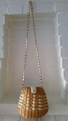 Vintage Wicker Baske