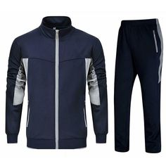 Sports Tracksuits, Mens Tracksuit Set, Custom Football, Track Suit Men, Woven Fabric, Color Blocking, Adidas Jacket, Athletic, Cotton