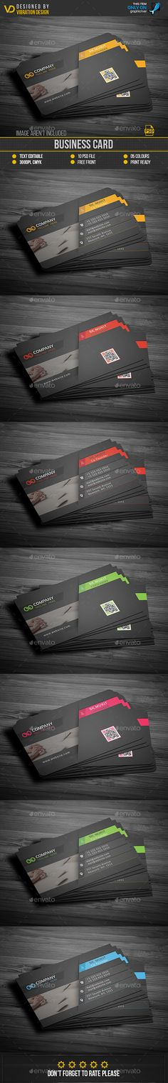 #Business #Card - Business Cards Print #Templates Download here: https://graphicriver.net/item/business-card/19219780?ref=alena994