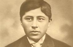 El beato Ceferino Namuncurá fue un joven salesiano argentino aspirante al sacerdocio, de origen mapuche. El apellido Namuncurá significa 'alguien firme, decidido