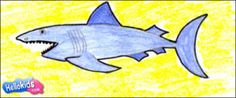 Quite an accurate depiction of a shark. Interesting article!!