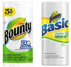 Steward of Savings : Bounty Paper Towels, ONLY $0.75 at Dollar Tree & $0.72 at Walmart!