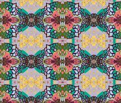 Shendoshe wisteria fabric by albanianflower on Spoonflower - custom fabric