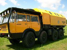 Tatra 813 Schwerlastfahrzeug Tatra T813 mit velängerten LAKII Aufbau beim Treffen in Auerbach Rebesgrün