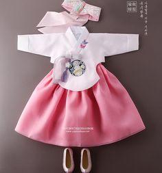 _shared by janejane4318@hotmail.com_ Korean Hanbok, Korean Dress, Korean Outfits, Korean Traditional Dress, Traditional Fashion, Traditional Dresses, Little Fashion, Kids Fashion, Yukata Kimono