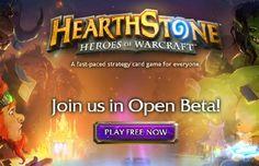 #BlooDGameS : Hearthstone entra em fase Open Beta!