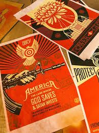 double page magazine spread Shepard Fairey - Google Search Magazine Spreads, Satan, Playing Cards, Google Search, Devil, Demons, Playing Card