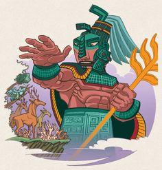 El mito maya de la creación está bellamente explicado en su libro sagrado, el Popol Vuh. En él, al principio solo existían los dioses en un estado latente sobre un mar inmóvil, y entonces hay palabras y deciden crear el mundo para que exista el hombre.