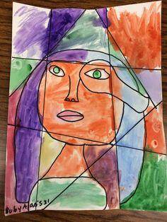 Cubism Self Portrait 4th