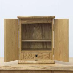 無垢の手作り家具&オーダー家具の店 頑固おやじ|茨城県 » 栗のお仏壇(小さいサイズ)