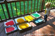 Rainbow Rice Drying