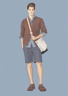 29 Fashion Illustration by adobe illustrator