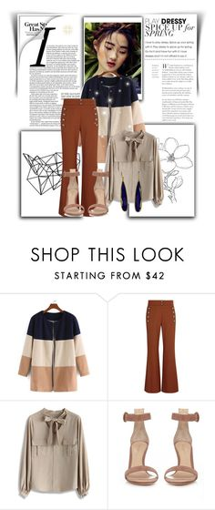 """""""A Trip To Seriosity"""" by norse-goddess ❤ liked on Polyvore featuring Color Me, Chloé, Chicwish and Gianvito Rossi"""