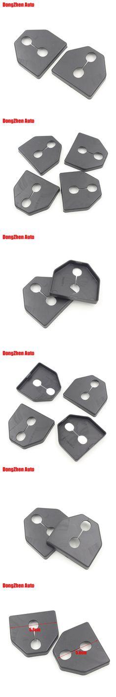 Dongzhen 1set 4pcs Car door lock protecting cover Anti-corrosive Exterior Auto accessories For SUBARU IMPREZA