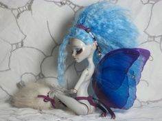 "Artist Custom OOAK Monster High Ghoulia ""Fairy"" Repaint BJD | eBay"