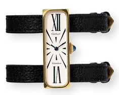 1970 Vintage Cartier Watch. The real arm candy. http://newyorkjewelrydiary.com/signed-jewels/