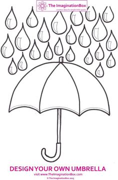 kids free printable coloring pages for spring. hat, mittens, umbrella, boots worksheets