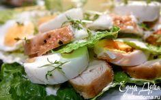 "Салат ""Цезарь"" с курицей  | Кулинарные рецепты от «Едим дома!»"