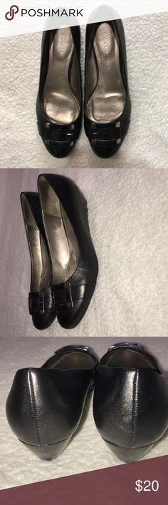 Dana Buchman Alexandria Black Flats Size 8.5 Dana Buchman Alexandria Black Flats With Silver Buckle Size 8.5 Grand 24 Dana Buchman Shoes Flats & Loafers